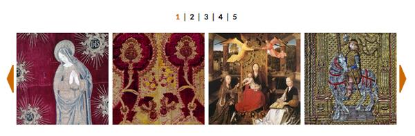 FOTO – Fili d'oro e dipinti di seta