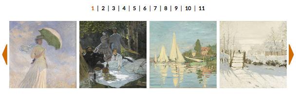 La galleria immagini della mostra di Monet alla GAM di Torino