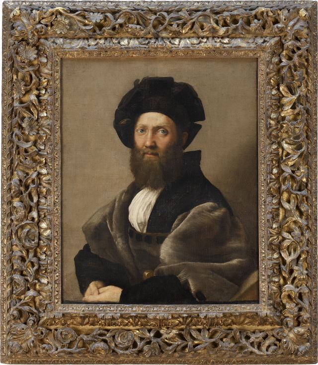 Raffaello Sanzio, Ritratto di Baldassarre Castiglione