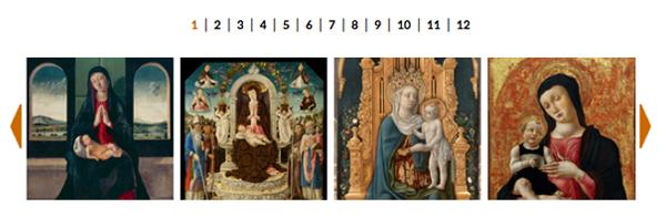La galleria immagini della mostra a Palazzo Sarcinelli