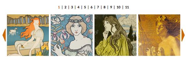 FOTO - Art Nouveau. Il trionfo della bellezza