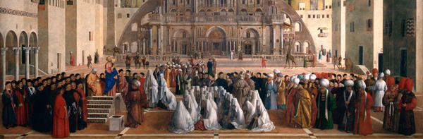 Pinacoteca di Brera, Gentile e Giovanni Bellini, Predica di San Marco in Alessandria