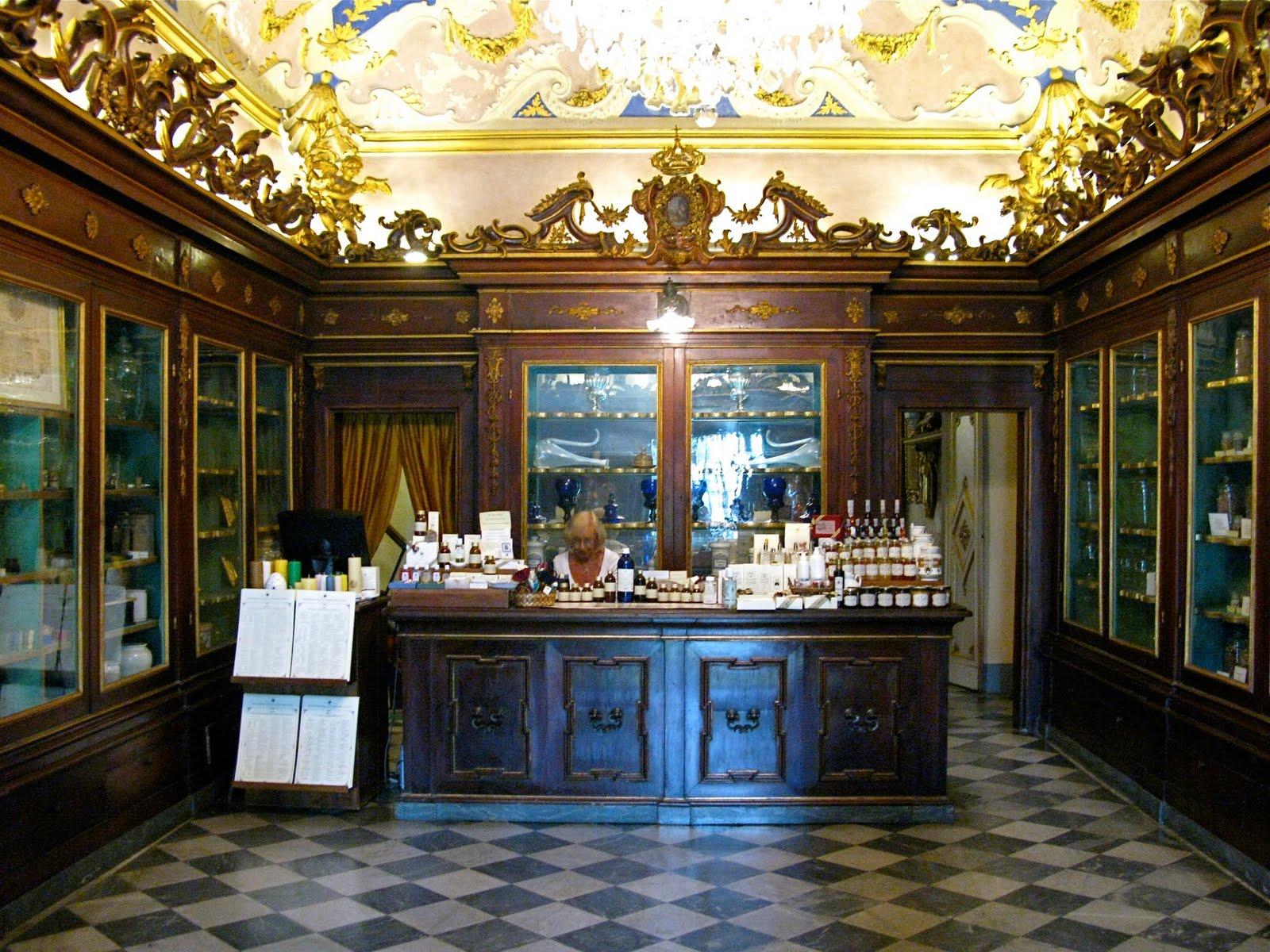 Farmacia Santa Maria Novella A Firenze Descrizione