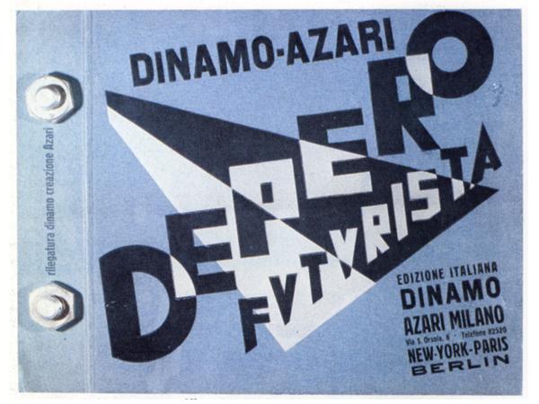Fortunato Depero, Depero Futurista, Dinamo Azari,1927