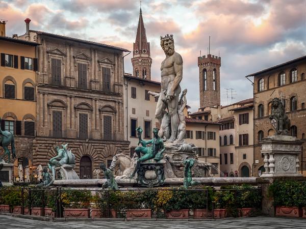 Fontana del Nettuno di Firenze - Monumento - Arte.it